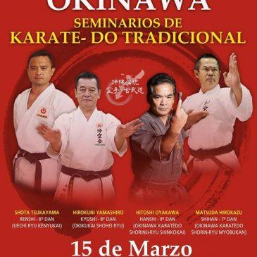 """Delegación de FAKKO participa del Seminario """"Maestros de Okinawa"""""""