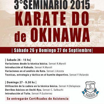 3° Seminario de FAKKO en el CENADE