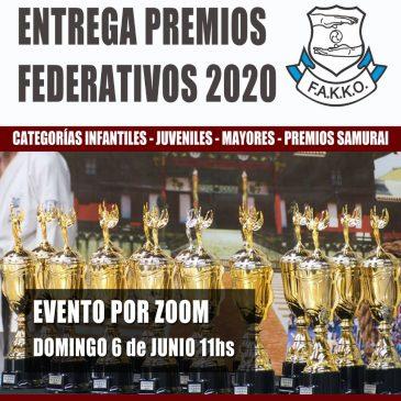 ENTREGA PREMIOS FEDERATIVOS 2020