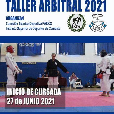 TALLER ARBITRAL 2021